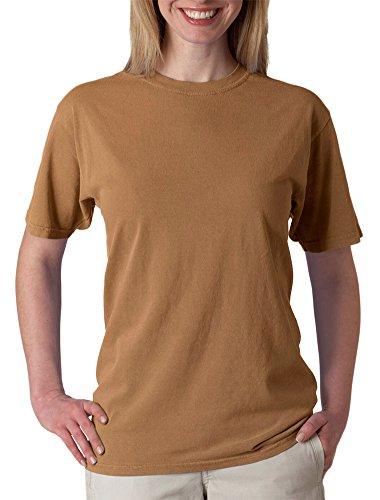 Chouinard Men's Garment-Dye Bottom Hem T-Shirt, Brass DirDye, - Outlet Jersey New Collection The