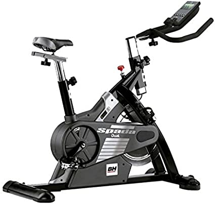 BH Fitness - Bicicleta Indoor Spada Dual + Dual Kit Be: Amazon.es ...
