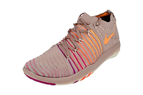 Nike Wm Free Transform Flyknit, WoMen Sneakers Plum Fog Peach Cream 502