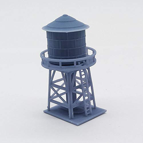 Outland Models Train Railway Layout Trackside Building Set N Scale 1:150 (Water Tower) ()