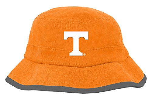 NCAA by Outerstuff NCAA Tennessee Volunteers Toddler Team Bucket Hat, Light Orange, Toddler One Size ()