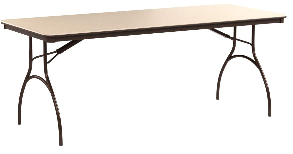 MityLite ABS Table, Rectangle, 30'' x 72'', Beige by MityLite