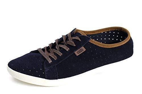 Hombre Zapatos De Piel con Cordones Informal Ante Verano Cómodo Moderno Mocasines - Azul Marino, 44: Amazon.es: Zapatos y complementos