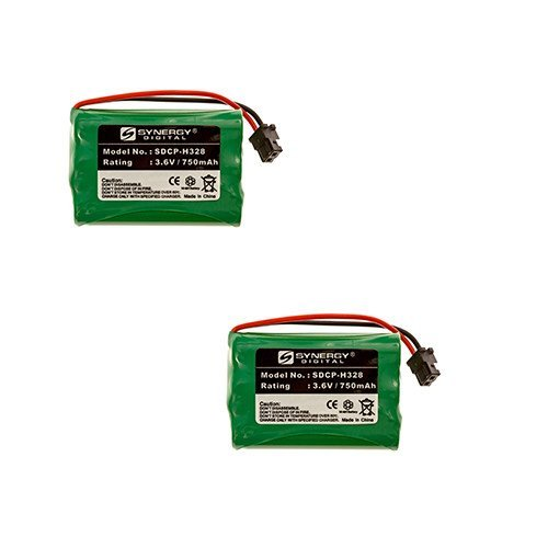 (Radio Shack 43-3815 Cordless Phone Battery Combo-Pack includes: 2 x SDCP-H328)