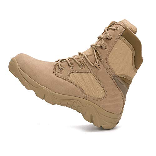HCBYJ Schuhe von Outdoor-Wanderschuhe für die Bekämpfung von Schuhe Spezialstiefeln der Militärstiefel im Freien 40145b