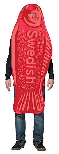 Rasta Imposta Men's Swedish Fish Tunic Funny Theme Party Outfit Halloween Fancy Costume, OS