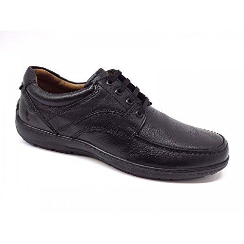 VALLEVERDE - Zapatillas de Piel para hombre Negro negro