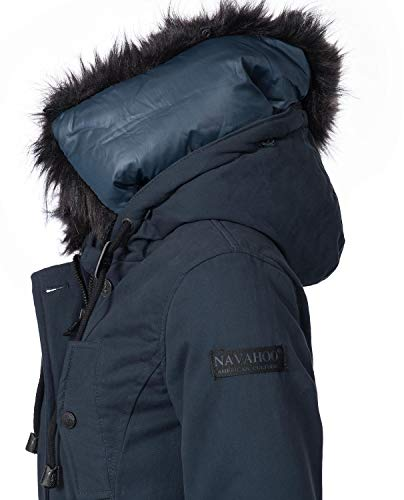 XXL Luluna Navahoo Navy Ladies Parka Winter Winter Colors XS 7 Coat Rzqzd
