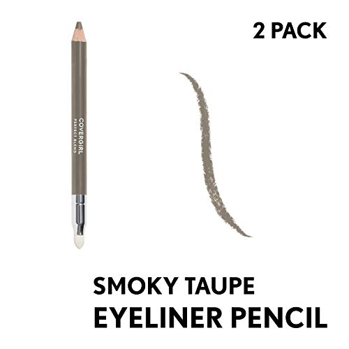 Covergirl Perfect Blend Eyeliner Pencil Smoky Taupe, 2 Count