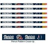 WinCraft NFL New England Patriots 15545014 Pencil (6 Pack)