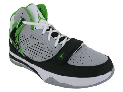 Nike Men's Nike Jordan Phase 23 Hoops Basketball Shoes 8.5 (Wolf Grey/Green  Apple