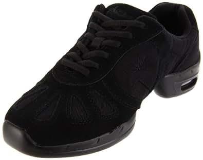 Sansha Hi-Step Dance Sneaker,Black,10 Sansha (8.5 M US Women's)