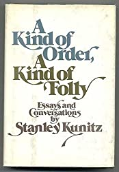 A Kind of Order a Kind of Folly: Essays and Conversations