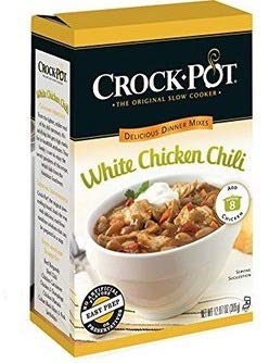 (Crock-Pot Delicious Dinners, All Natural White Chicken Chili, 12.87 Ounce Bag, Pack of)