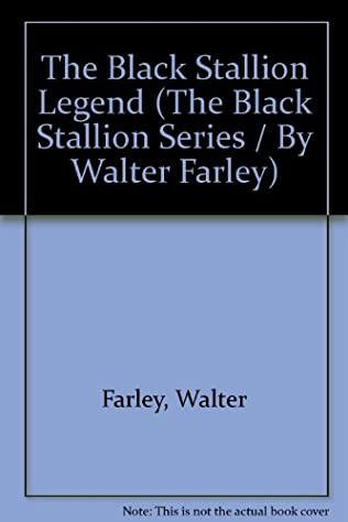 book cover of The Black Stallion Legend