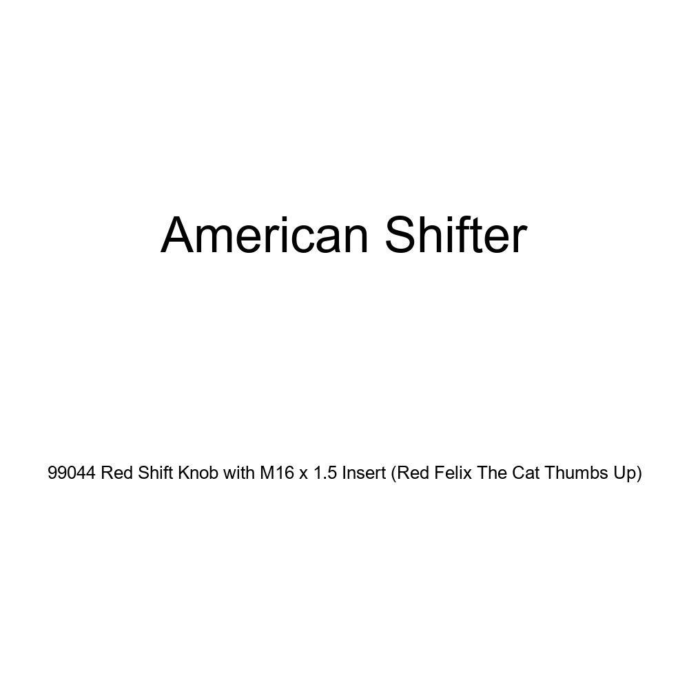 American Shifter 79209 Blue Metal Flake Shift Knob with M16 x 1.5 Insert Black Shift Pattern 58n