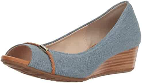 Cole Haan Women's Emory OT Wedge with Braided Band Pump
