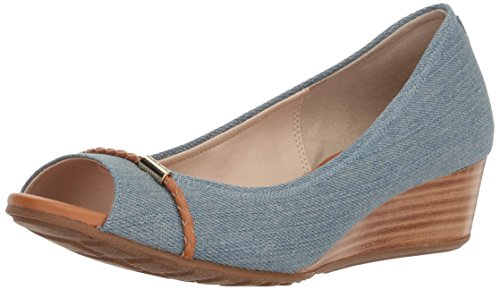 Cole Haan Women's Emory OT Wedge Braided Band Pump