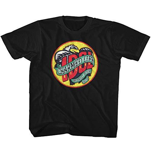 Billy Idol 80's Punk Rock Singer Musician MTV Charmed Life Toddler T-Shirt Tee