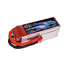 Forever C 2 Pack RC Lipo Battery 3S 11.1v 2200mAh 40C Deans Plug for RC Model RC Airplane Helicopter Car Truck Boat