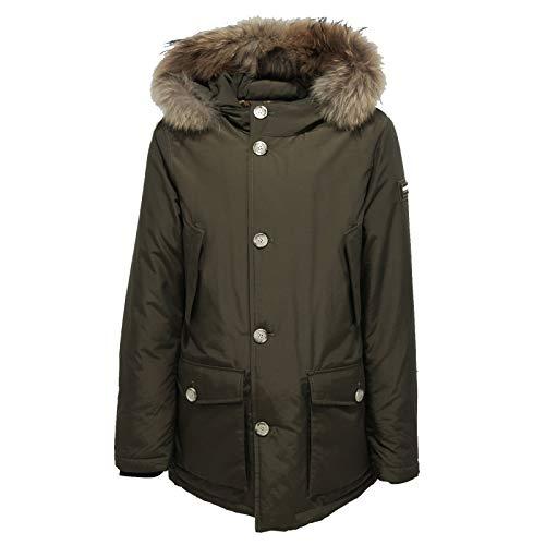 Bimbo Verde Green Jacket Detachabl Parka Woolrich Boy Piumino 6404x wXx8xHAqE