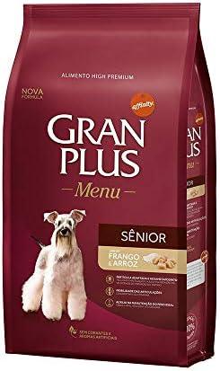 Ração para Cães Sênior Gran Plus Menu Frango e Arroz 3Kg
