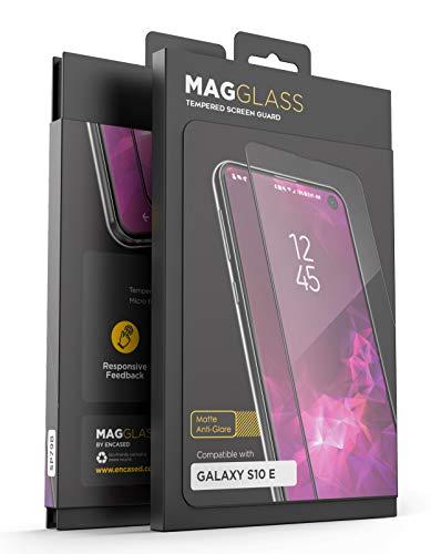 MagGlass Galaxy S10e Matte Screen Protector (Case Friendly) Anti Glare Fingerprint Resistant Tempered Glass Guard (Samsung ()