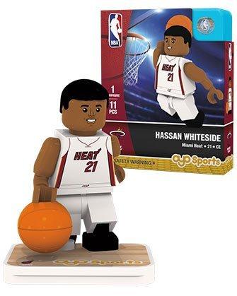 - OYO Sports NBA Minifigure Miami Heat Hassan Whiteside