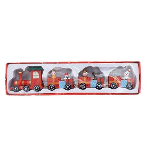 (Lavany® Christmas Woods Small Train Children Kindergarten Festive Gift Decorative ,Christmas Decorations)