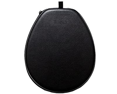 Kinzd® Headset Case Bag for LG Tone Pro HBS 700 730 750 760 800 900 - Headphone Carrying Case Cover Box for LG Electronics Tone Infinim Wireless Bluetooth Earbuds - Black PU Leather