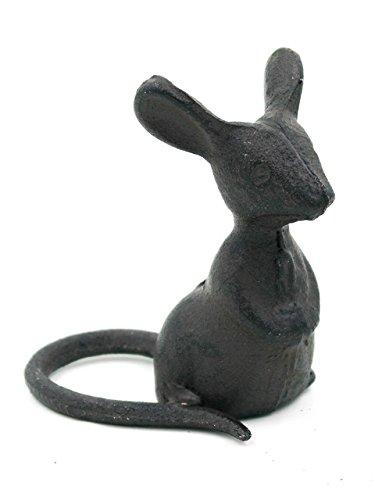 Ascalon Cast Iron Listening Mouse - Cast Ornaments Iron