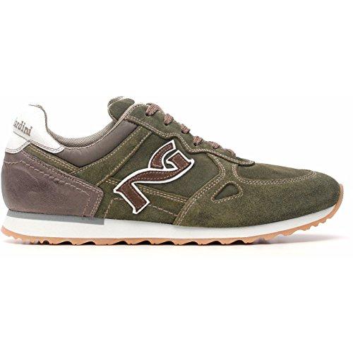 Inverno A503733u mali Camoscio pelle Verde Sneaker Uomo In Giardini Nero qgWwFAz8