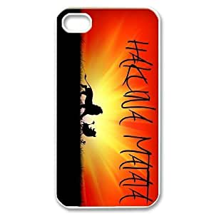 Custom High Quality WUCHAOGUI Phone case Hakuna Matata - The Lion King Protective Case For Iphone 4 4S case cover - Case-6