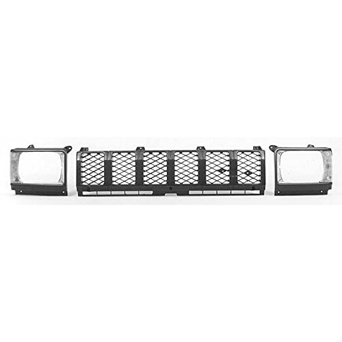 1983 Toyota Pickup Grille (CPP Front Grille Assembly for 1982-1983 Toyota Pickup TO1200111)