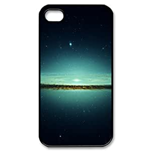 IPhone 4/4s Case, Star Burst Shock Absorb Case for IPhone 4/4s {Black}