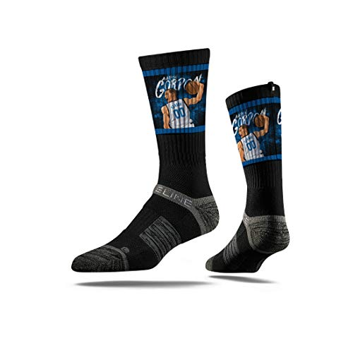 - Strideline NBA Orlando Magic Aaron Gordon Action Premium Athletic Crew Socks, One Size