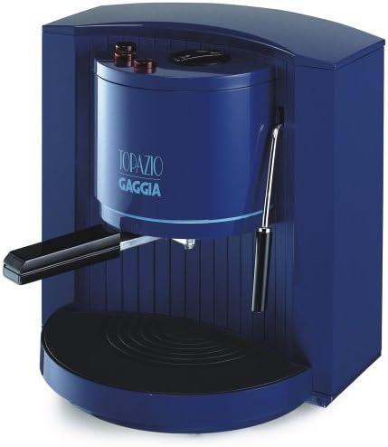 Gaggia topazio – Cafetera espresso Azul: Amazon.es: Hogar