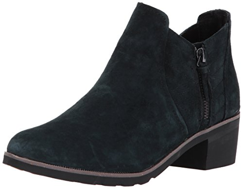 Reef Women's Voyage Low Ankle Bootie, Black/Black, 8 M US by Reef