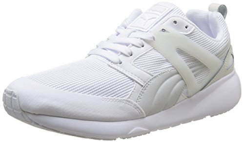 Basses Sneakers Adulte Arial Puma White Mixte Blanc zU1F7g