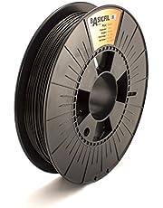 BASICFIL PLA (3D-printer filament), 1,75 mm, 500 g, zwart (zwart)