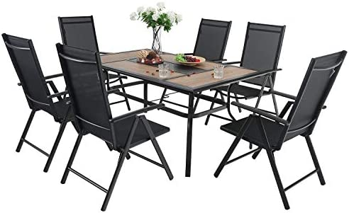 Sophia William Patio 7 PCS Dining Set