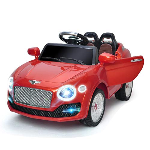 Red Games Toy Electric Riding Vehicles 6V RC Lights Power Kids Car Toys & Hobbies Electronic Wind-Up Battery Operated Ride On Accessories Outdoor Structures, Conveyance, Outside Children Child from Lek Store