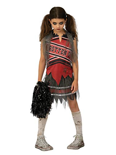 Dark Cheerleader Girls Costume