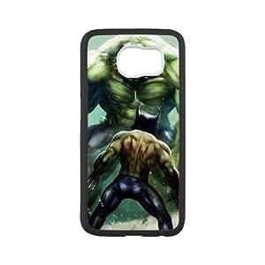Cute TPU Wolverine Vs Hulk Samsung Galaxy S6 Cell Phone Case White