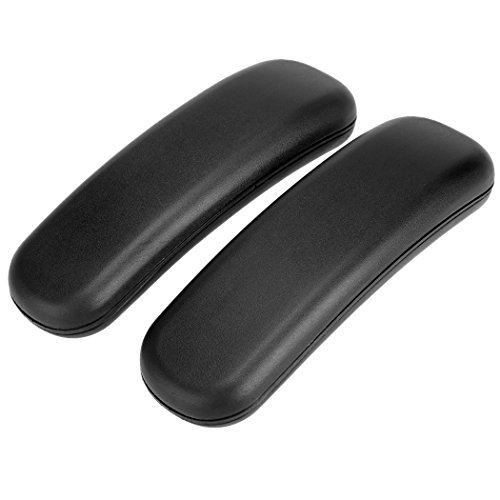 Fashine Chair Arm Pads for Office and Desk Chairs with Soft Cushioning(Set of 2, Black), US Stock by Fashine