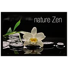 Tapis Déco - 1740319, Rectangular Door Mat , 40 X 60 Cm , Nature Zen , Photoprint , Without by Tapis Deco