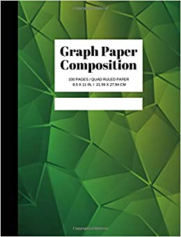 graph paper composition grid paper notebook quad ruled 100 sheets
