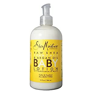 Shea Moisture Raw Shea Chamomile & Argan Oil Baby Lotion 13 oz (Pack of 2)
