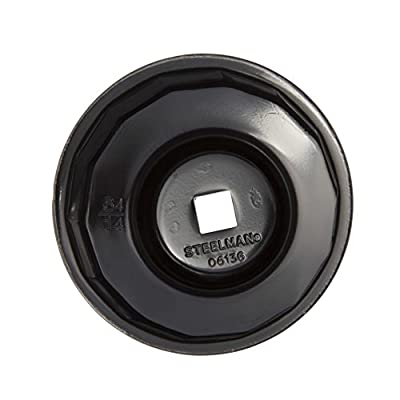 Steelman 06136 Oil Filter Cap Wrench 64mm x 14 Flute: Automotive