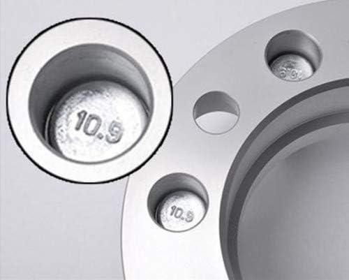 WEELTECH 4X Wheel Spacers 2 Thick 9//16 Studs 5x5.5 Fit for Dodge Ram 1500 02-10 Durango 04-09 Dakota 05-11
